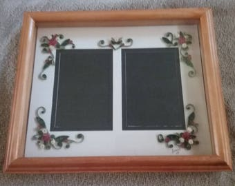 Quilled picture frames