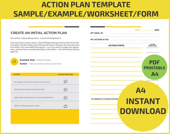 Action Plan Goal Setting