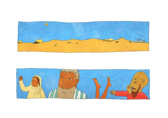 The Jesus Storybook Bible - Signed Print (Page 100 - 101)