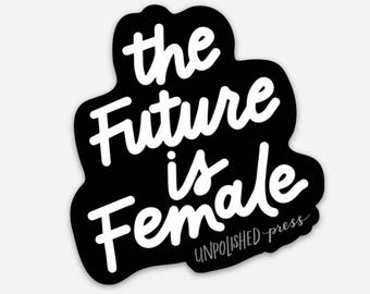 The Future is Female 3'' Magnet