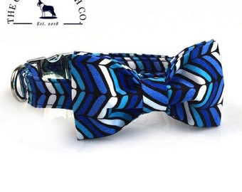 the sea breeze collar and bow set