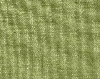 "Linen Fabric Remnant,Lime,Greenhouse Fabric,8"" x 27"", 7"" x 41"",T-shaped Piece,Crafters,Pillows,Bags,Ready to Ship,Free Shipping."