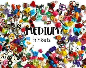 Medium I Spy trinkets for I spy bag/ bottle, Speech therapy, Language objects, Miniatures, no doubles, 2-4cm, Set of 20/50/100/200