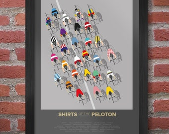 Shirts of the Peloton