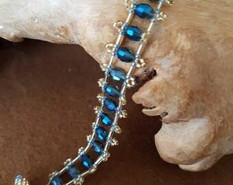 Crystal Ladder Bracelet