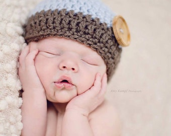Baby Beanie, Baby Boy Hat, Newborn Boy Hat, Knit Hat Baby, Newborn Knit Hat, Crochet Hat, Infant Hat, Baby Boy Gift, Baby Shower Gift, Boys