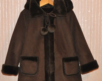 Kids Jacket,Mouton Jacket, Kids Fur Coat, Kids Winter Clothes,Warm Kids Jacket,Winter Jacket