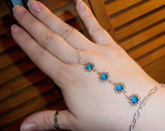 fiori azur crystal slave bracelet