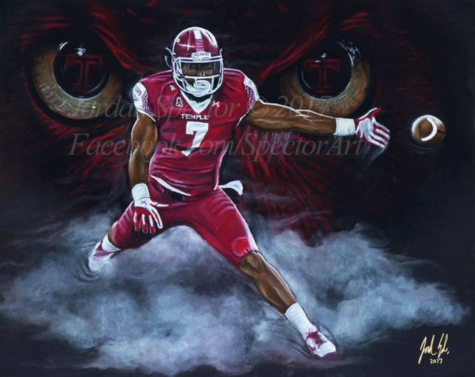 """Haason Reddick """"started from the botthom"""" open edition art print - 16x20 inches"""