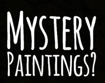 Mystery mini painting