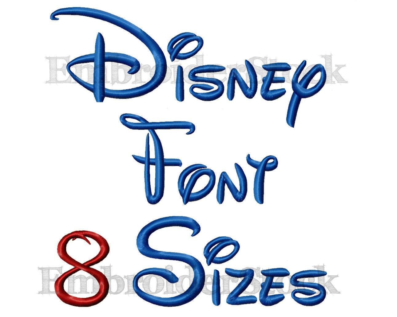 Walt disney font machine embroidery design alphbet disney zoom spiritdancerdesigns Images