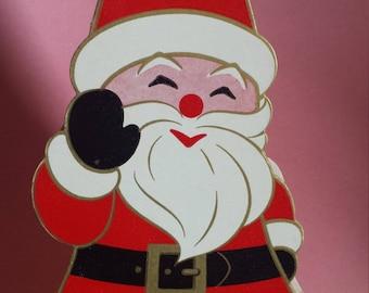 Vintage holiday King's Santa candy box