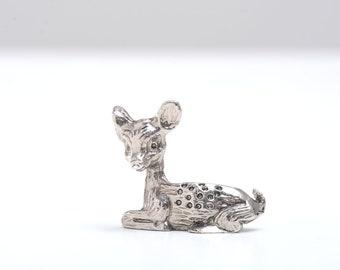 Deer, fawn, deer figurine, miniature deer, miniatures, fairy garden, miniature animals, miniature figurines, figurine, animal lover