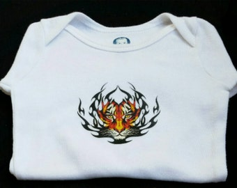 Little Tiger Onesie - Baby Onesie- Unisex Baby Clothing - Baby Boy - Baby Girl- Customized Onesie- Baby Bodysuit- T-Shirt- Baby Shower Gift