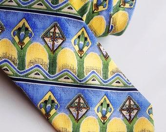 Vintage Linea Uno polyester tie