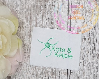 Care Labels / Bespoke Sew In Labels (38mm x 5cm) CE, EN71/3 Approved