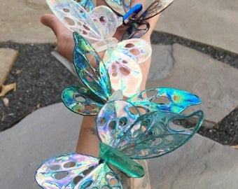 Made to Order, Crystal Butterfly, Shimmery Wings, Valentines Day, Butterfly Ornament, Sun Catcher, Crystals, Quartz Point