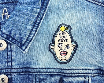 80s The Goonies Sloth Hey You Guys Iron-on Embroidered patch