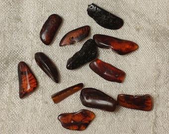 Amber - 13-18 mm beads - 12pc 4558550035448 bag beads