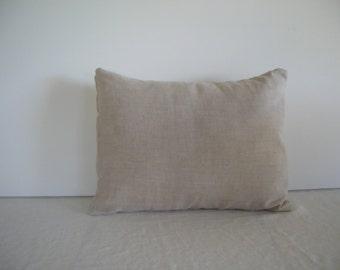 Natural Linen 12x16 Pillow Cover