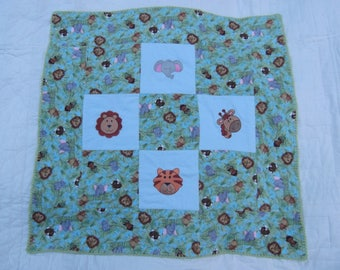 Baby Blanket with Jungle Theme