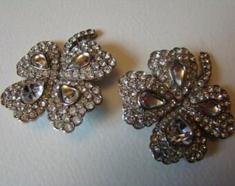 YSL Yves Saint Laurent four-leaved clover Earrings