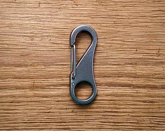 Titanium Key Clip | Titanium Snap Hook | Titanium Quick Release Snap | Titanium Keychain | Titanium EDC