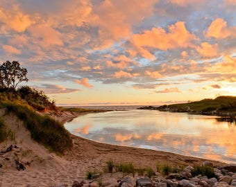 Sable River Savored - Ludington State Park - Michigan Photography - Stock Photography