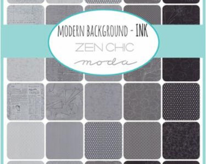 Modern Backgrounds Ink - 24 x 1/2yd Bundle
