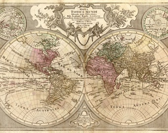 Old world map, Historical maps, Antique world map, Map, 124