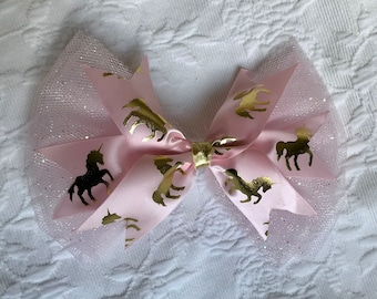 Unicorn princess bow