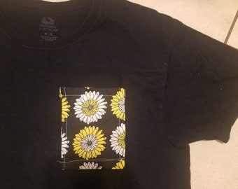 Sunflower Pocket Tee - Any Color/Size T-shirt