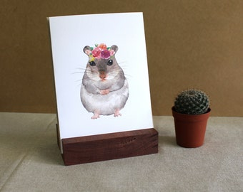 """Chinchilla Greeting Card 