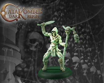 Undead miniature: Skell the champion deaths