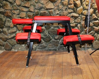 MATURE | BDSM Bench for Spanking | spanking bench | spank bench | rapegame | bdsm furniture | dungeon sex furniture | spanking horse