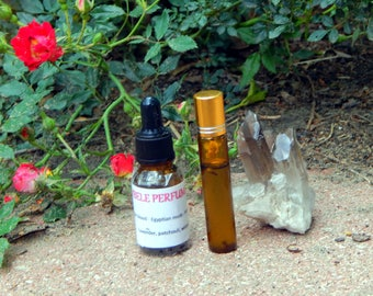 CHAKRA OIL two sizes   for altar body anointing   High quality organic handmade with essential oils, crystals & herbs