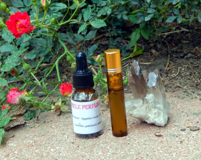 CHAKRA OIL two sizes | for altar body anointing | High quality organic handmade with essential oils, crystals & herbs