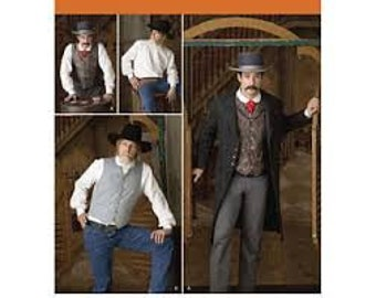Simplicity 2895 Size 38-44 Costume pattern Renn Fair, SCA, Larp, Steampunk, Victorian, Old West