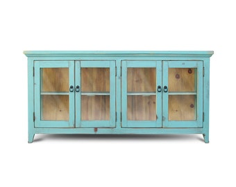 Media Console, Sideboard, Reclaimed Wood, Entertainment Console, Console Cabinet, Buffet, TV Stand, Handmade