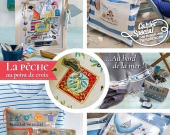 Magazine created by stitch N 59 - July / August 2016 - the sea