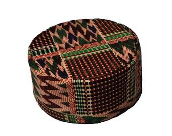 african hat |  african kufi | kufi hat | kente kufi | kente hat