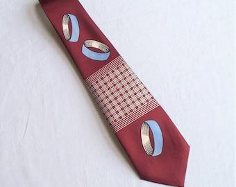 NWOT Mid Century Rockabilly Necktie - Tie, Rockabilly, NOS, NWOT, Mens
