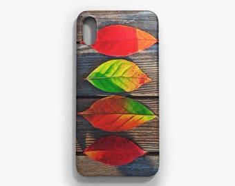 Leaves Phone case, iPhone X, iPhone 8/8 Plus, iPhone 7/7 Plus, iPhone 6 6S, iPhone 6 Plus 6S Plus, Samsung Galaxy S8/S8 Plus case
