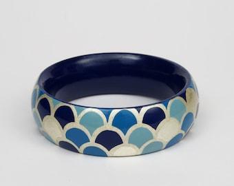 Bracelet Scale  - Cobalt Blue -