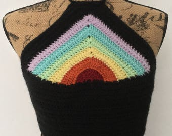 LGBT Rainbow Crop Top