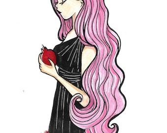 Inktober Day 27 Persephone