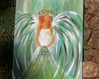 Angel of Spring and New Beginnings