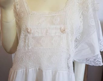 Gorgeous Victorian nightgown.