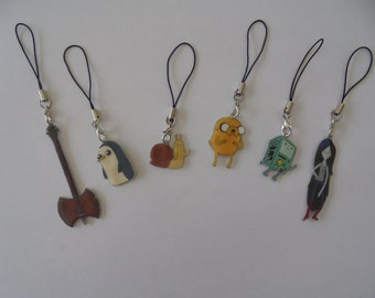 Adventure Time- DS Charm - Movile Strap -Lanyard