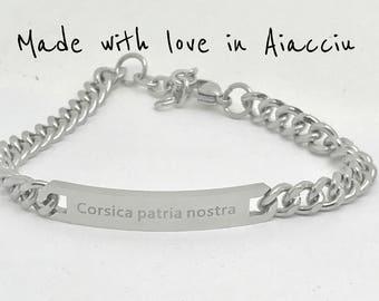 Bracelet Corsica Corsica patria nostra